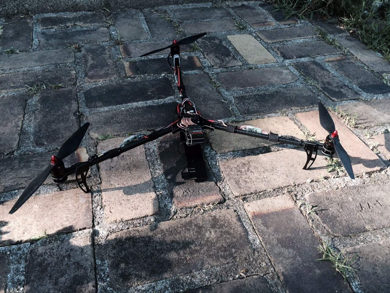 Diy Printed Circuit Boards Rcexplorer Tri Copter There Is A Purpose Built Firmware For This Board And An Optimized Version Copters In General On Standard Naze32 Using Cleanflight Instead Of